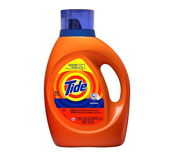 Tide He Turbo Clean Liquid Laundry Detergent Original