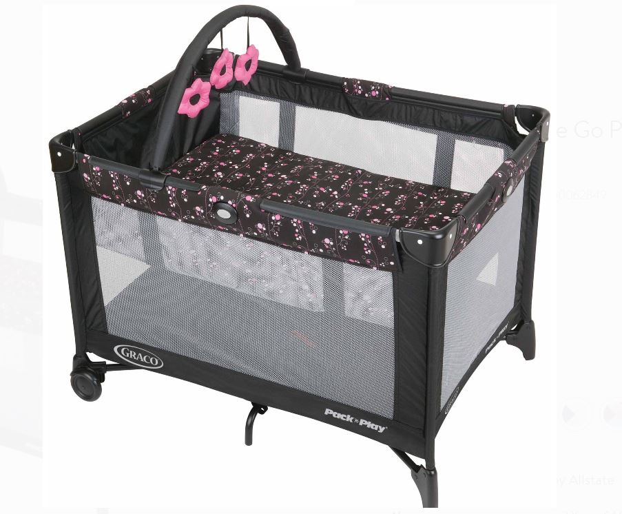 Graco Pack N Play On The Go Playard With Bassinet 49 99