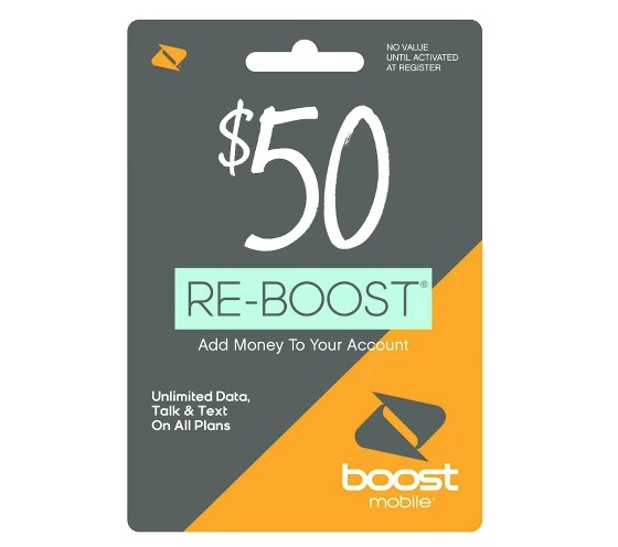 $5 Off Prepaid Phone Cards At Target (Boost, T-Mobile