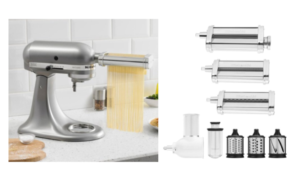 Kitchenaid Pasta Cutter Amp Fresh Prep Attachment Bundle 99