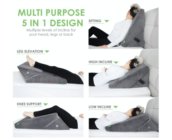 Memory Foam Bed Wedge Pillow 59 Shipped Reg 73 My