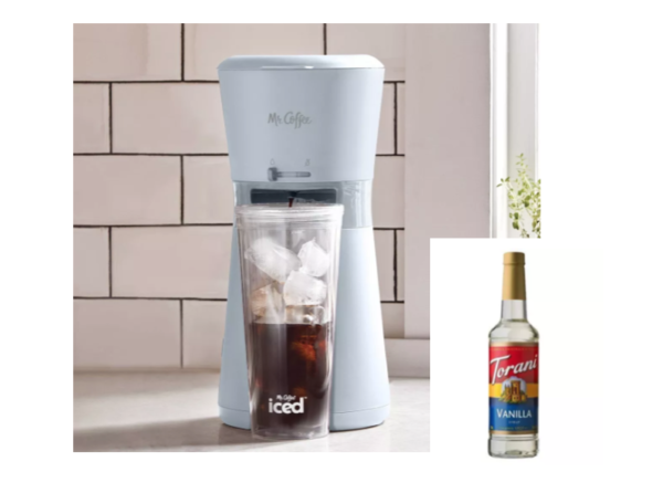 Mr. Coffee Iced Coffee Maker with Reusable Tumbler ...