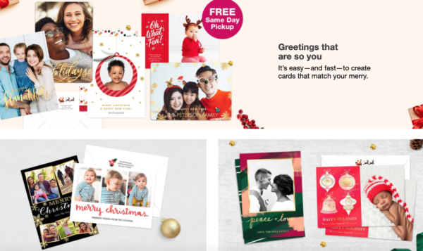 60 off walgreens holiday cards  free in store pickup